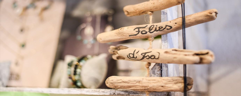 Folies d'Isa ,une boutique au cœur  de Nice
